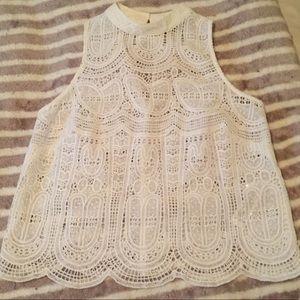 ASOS lace blouse